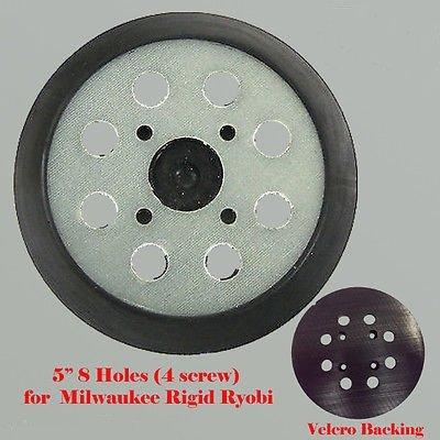 5 8 Hole Sander Pad Hook and Loop For Milwaukee Ridgid Ryobi 300527002