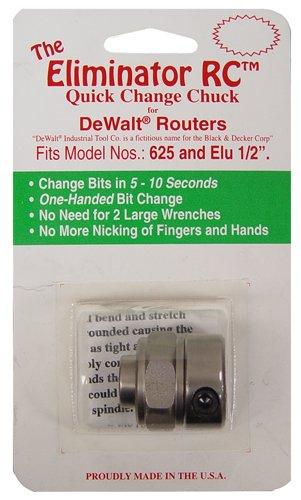 Magnate SHA0102 The Eliminator RC Quick Change Chuck - DeWalt Routers