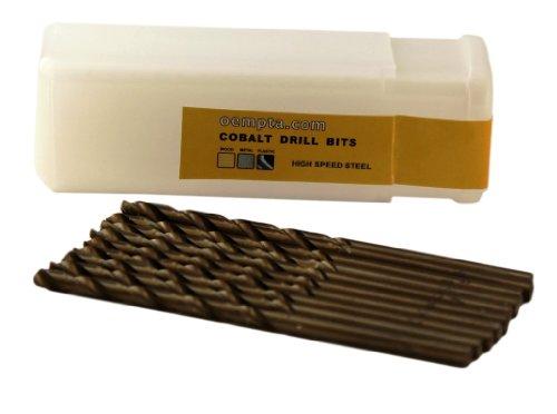 18-Inch Cobalt Twist Drill Bit Split Point 10 Pack