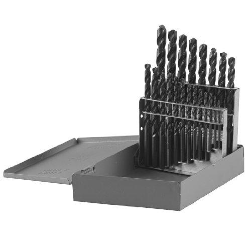 Bosch BL0021 116-Inch to 38-Inch Black Oxide 21 Piece Twist Drill Bit Assortment with Metal Index