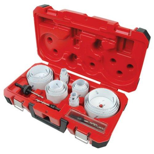 Milwaukee 49-22-4185 28-Piece All Purpose Professional Ice Hardened Hole Saw Kit