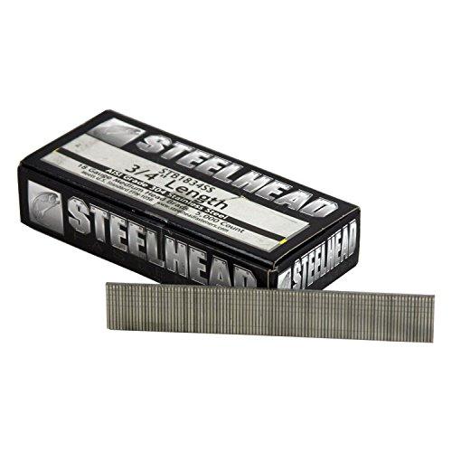 Steelhead STB1834SS Stainless Steel Nail Brad 18ga 34 5000 count