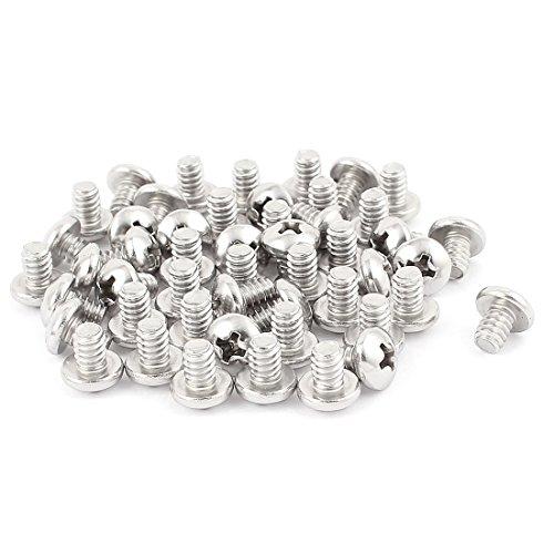 10-24 x 14 Inch Phillips Truss Head Machine Screws Fasteners 50pcs