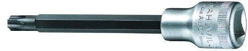 Stahlwille 1054TX-T55 Steel Extra Long Torx Screwdriver Socket 12 Drive 112mm Diameter 140mm Length 227mm Width