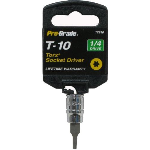Pro-Grade 12910 14-Inch Drive with T10 Internal Torx Socket