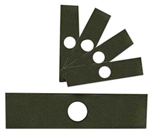 MowerPartsGroup 5 Pack Edger Blades 8 X 2 Fits Echo Stihl Husqvarna stick edgers