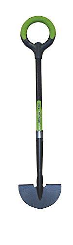 Radius Garden 25602 Pro-Lite Ergonomic Carbon Steel Edger Green