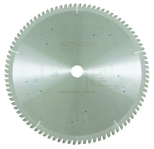 Hitachi 726102 90-Teeth Tungsten Carbide Tipped 12-Inch TCG 1-Inch Arbor Finish Saw Blade