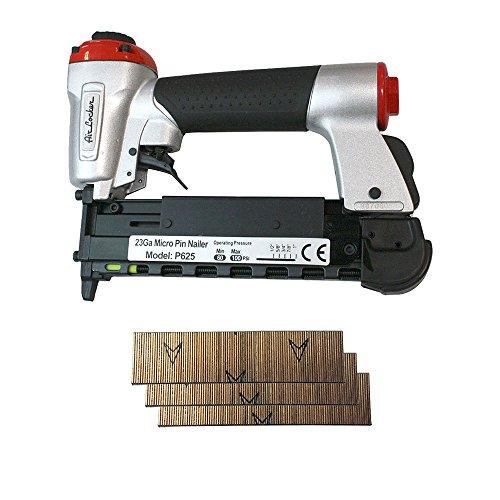 AIR LOCKER P625K 12 to 1 Inch Heavy Duty 23 Gauge Micro Pin Nailer Kit