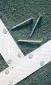 TennisBocce - Nails for Har-Tru Courts - Aluminum Nails-large head 2 12 - 25lb BOX Har-Tru Courts