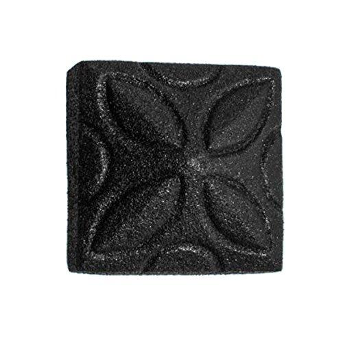 Clavos Decorative Nail Big Head Black Iron 4 14 H  Renovators Supply