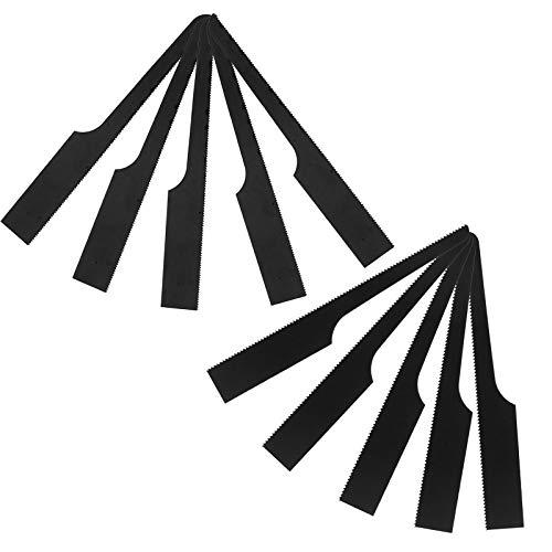 SING F LTD 10pcs Replacement High Bi-Metal Central Air Body Saw Blades Cutting Tool