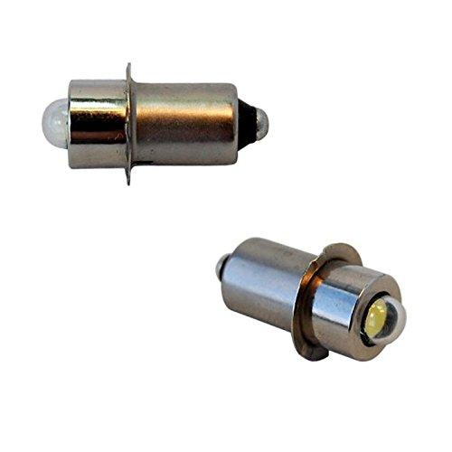 HQRP High Power Bulb 2-Pack for 84V 96V 12V 144V 18V Volt Dewalt Flashlight DW908 DW919 DW906 DW918 DW904 DW902 DW904 DW9043 92546-1 A-90261 A-90233 ML902 ML70249-81-0090  HQRP Coaster
