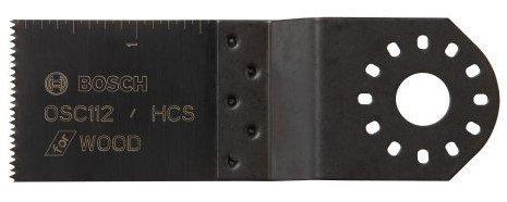 Bosch Power Tools - Oscillating Tool Accessories 1-12 X 1-58 Hcs Plungecut Blade 114-Osc112 - 1-12 x 1-58 hcs plungecut blade