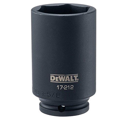 DEWALT 12 Drive Socket Deep Impact 6PT 1 58