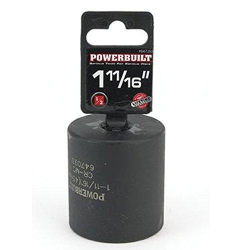 Powerbuilt 647093 12-Inch Drive 1-1116-inch Dodge Spindle Nut Socket