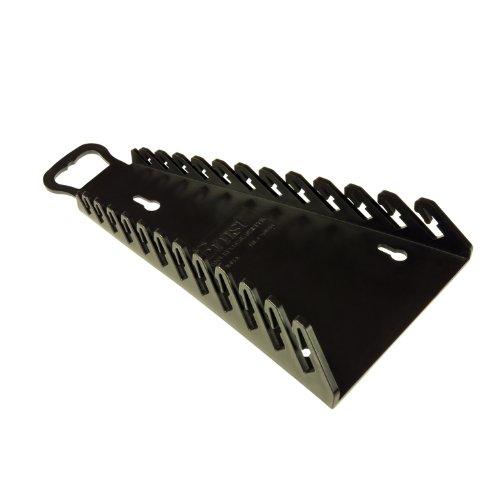 Ernst Manufacturing 5116-Blk Reverse Gripper 12-Wrench Organizer