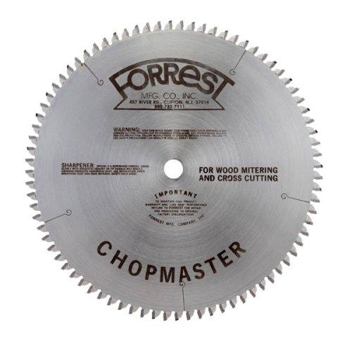 Forrest CM07H606100 Chopmaster 7-12-Inch 60 Tooth 58-Inch Arbor 332-Inch Kerf Circular Saw Blade