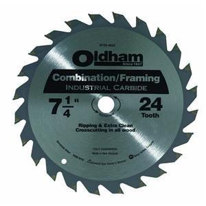 OLDHAM B7254524-10 Industrial Carbide Tipped Circular Blade