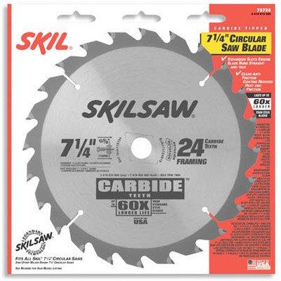 Skil 75718 Ripping Framing Carbide Tipped Circular Saw Blades
