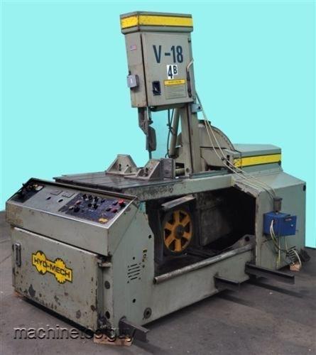 Hyd-Mech V-18 Semi-Automatic 18 X 20 Vertical Band Saw
