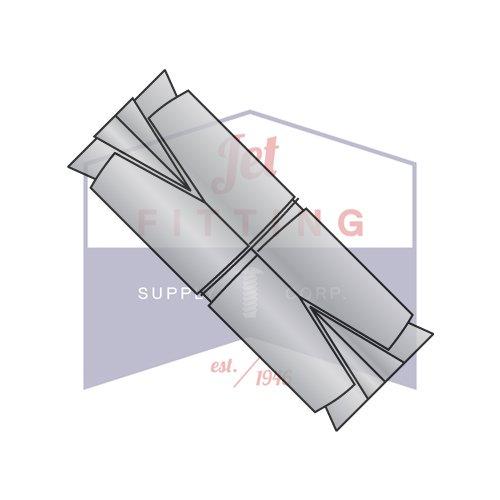 12 Double Expansion AnchorsZinc AlloyRecommended Hole Diameter 78 Quantity 25 pcs