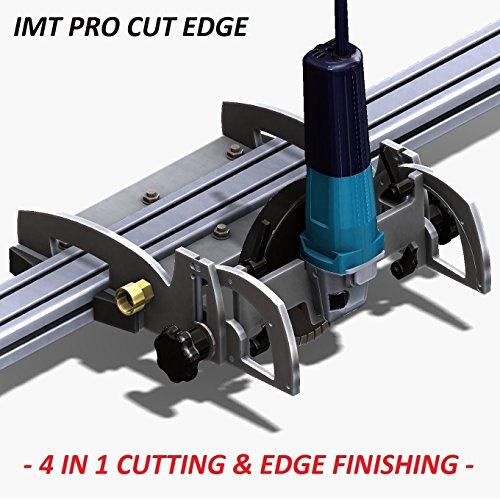 IMT-PRO CUT EDGE IP520S- Wet Cutting Rail SawGrinder PolisherProfiler For Granite- Tool only