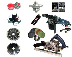 Toolocity DIYKIT001  Diy Stone Fabricators Start Kit - Cut Profile And  Polish Granite