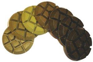 Toolocity 3CNGSET 3-Inch Typhon Dry Concrete Diamond Polishing Pad Set of 7