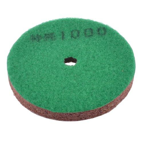 Uxcell 4-Inch Dia 1000Grit Dry Concrete Diamond Polishing Pad Disk