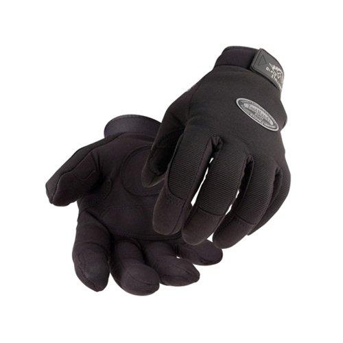 Revco 99PLUS-BLACK-LARGE Tool Handz Plus Reinforced Snug-Fitting Gloves Synthetic Large 1 Pair