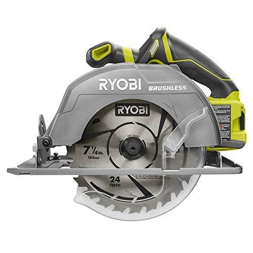 Ryobi 18-Volt ONE Cordless Brushless 7-14 in Circular Saw Tool OnlyBulk Packaged Renewed