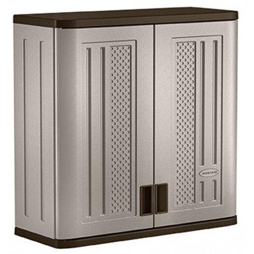 Suncast Wall Storage Cabinet Platinum