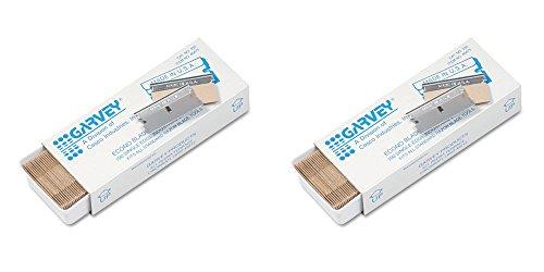 Garvey Economy Single Edge Cutter Blade Box of 100 40475 2 Packs