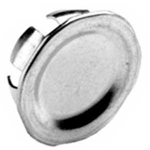 Bridgeport 1693 Blank Knockout Plug 1 Inch Steel Snap-In Pack of 10