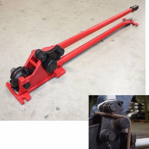 9TRADING 58 Manual Rebar Cutter Rebar Bender 50 Long Handle big Leverage 90° 180°Free TaxDelivered within 10 days