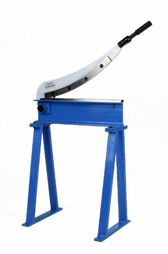 Erie Tools Manual Guillotine Shear 20 x 16 Gauge Sheet Metal Plate Cutting Cutter w Stand