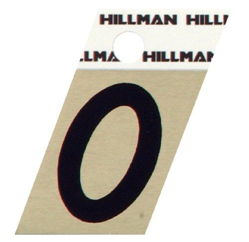 The Hillman Group 840522 1-12-Inch Aluminum Angle-Cut Letter O