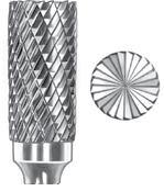 SGS Tool Company 11028 SB-5 Double Cut Carbide Bur 12 Diameter 14 Shank Diameter