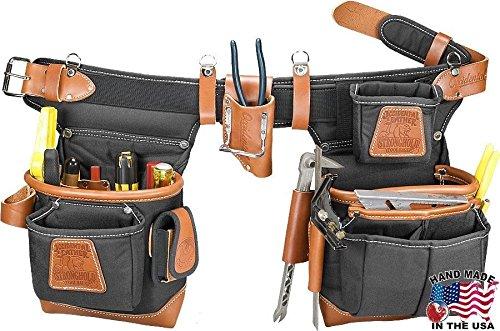 Occidental Leather 9850 Adjust To Fit Fatlip Tool Bag Set