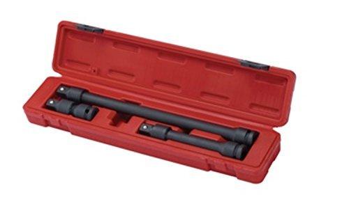 Sunex 2501 12-Inch Drive Locking Impact Extension Set 3-Piece by Sunex International