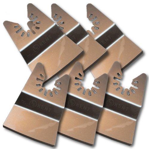 6 KENT Flush Cut Rigid Stainless Steel Scraper For Quick Change Oscillating Tool