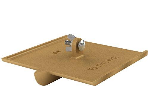 Bon 12-543 1-Inch Bit Depth by 38-Inch Width 8-Inch by 8-Inch Walking Concrete Groover Bronze