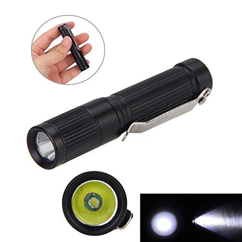 FidgetGear 1000LM Clip Mini R5 AAA10440 Pocket Keychain Handy LED Flashlight Torch