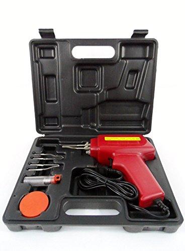 New 5pc 100w Soldering Gun Kit Wcase Iron Solder Professional Style Sodering
