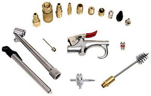 New 18pc Air Tool Compressor Blow Gun Chuck Pneumatic Accessory Accessories Kit
