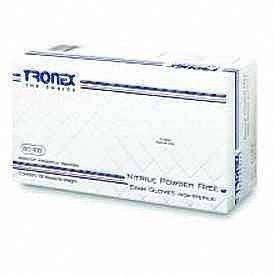 Tronex Gloves Nitrile Powder Free Textured Large 100 ct by Tronex