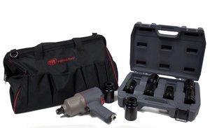 Ingersoll Rand IRT2145QIMAXK 34 Air Impactool with 34 Drive Socket Set and Tool Bag Kit