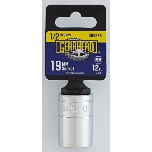 Gearhead 12 Drive 19mm Socket GH8275