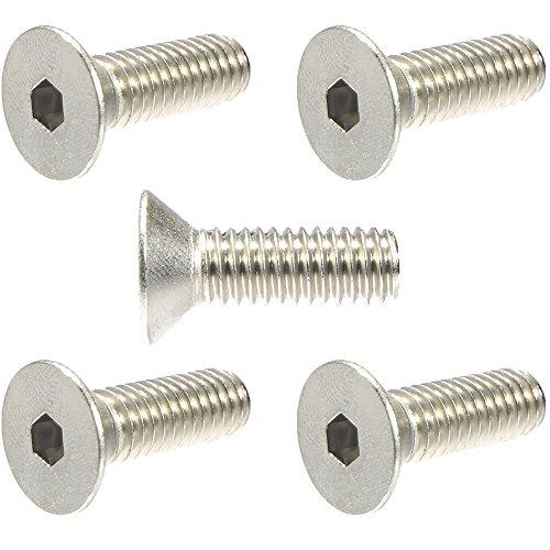 14-20 x 12 Flat Head Socket Cap Screws 18-8 Stainless Steel Quantity 25  Countersunk Head Allen Hex Drive